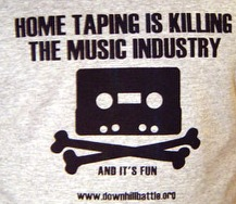 home taping is killing the music industry